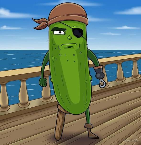 Pickle Pirate By Rennis5 On Newgrounds