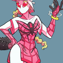 Spidersona By LukeValentineArt On Newgrounds