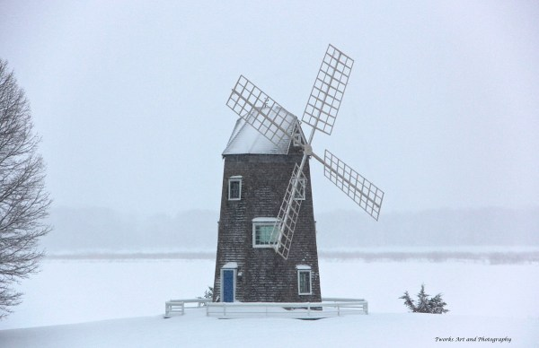 Village Windmill - Tworks Art and Photography