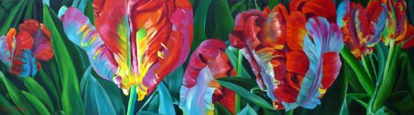 foret de tulipes