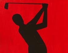 Black Golfer #3