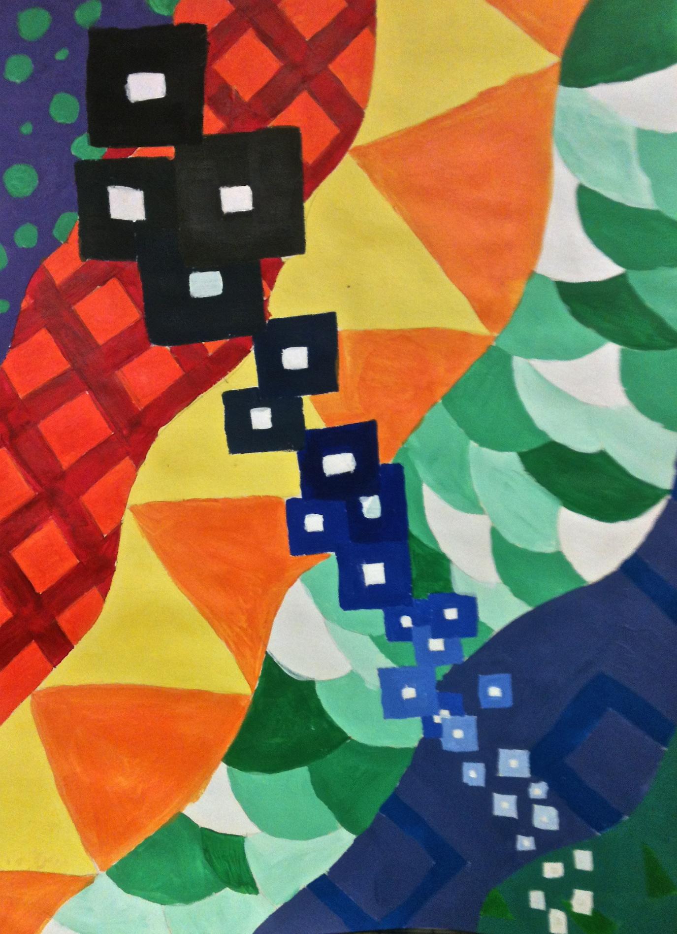 Elements Amp Principles Of Art Pattern Value Movement