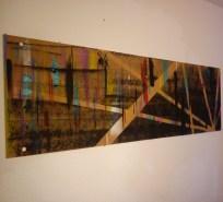 190x60cm Acryl auf Pressspanplatte 2014
