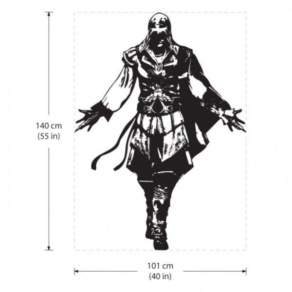 Assassin's Creed #2 Vinyl Wall Art Decal