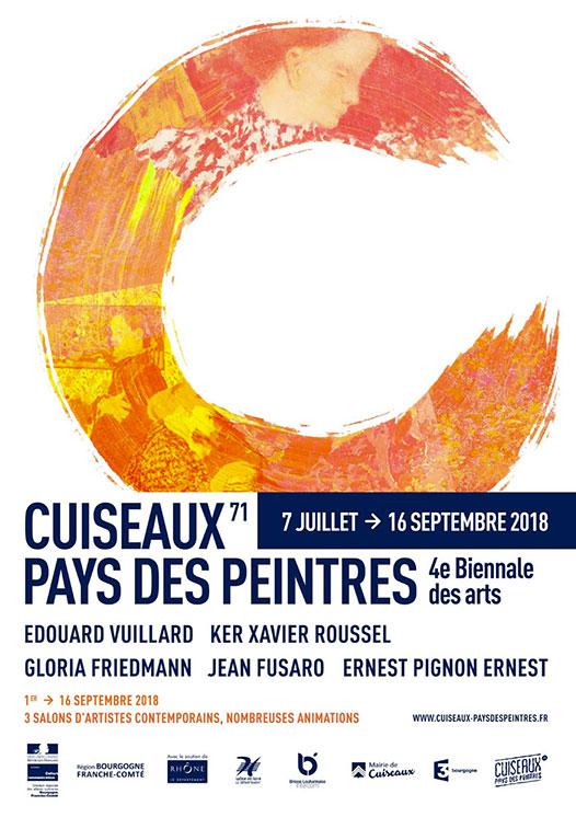 4ème Biennale de Cuiseau du 07.07.2018 au 30.09.2018