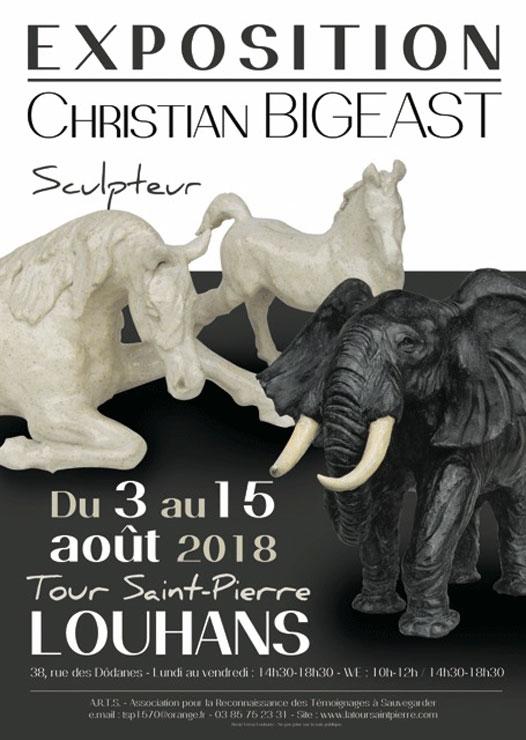 Christian BIGEAST à la Tour Saint Pierre (LOUHANS) du 03.08 a 15.08