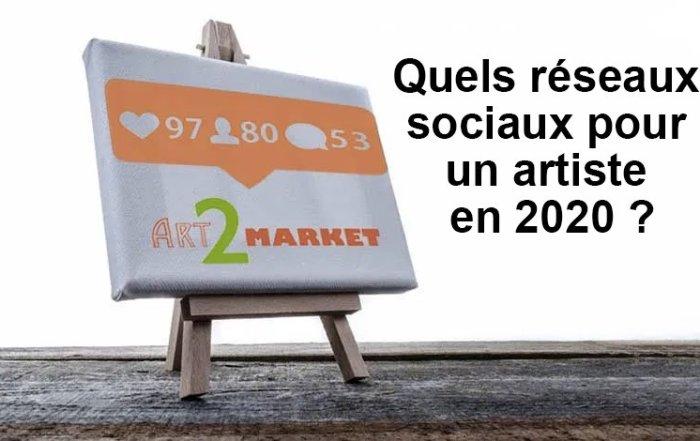 Quels réseaux sociaux pour un artiste en 2020 ?