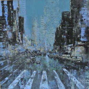 Cityscapes blue ⓒ Pierre Dessein