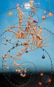 La machine à grandir ⓒ Myriam Feuilloley