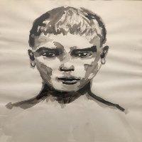 Le garçon boudeur ⓒ François Fillon