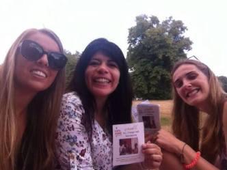 Nicole, Daniela and Leonie!