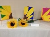 O'Keefe inspried Sunflower