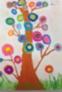 Kadinsky Inspired Tree