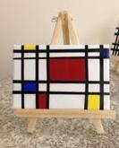 Mondrian Inspired