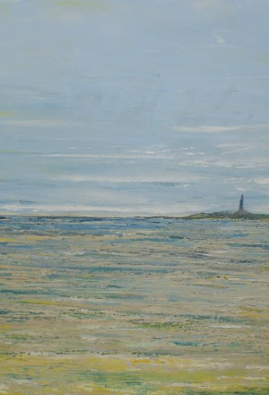 Le phare de l'artiste peintre Valérie Nouailhetas Galerie ART 52 royan