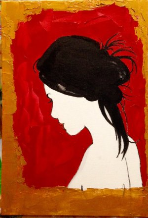 Laina artiste peintre valerie guillemont espace art52 atlier galerie royan