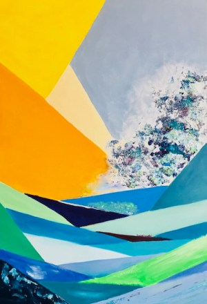 tangage artiste peintre valerie guillemont espace art52 atlier galerie royan
