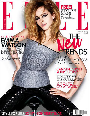 Emma Watson for Elle August 2009