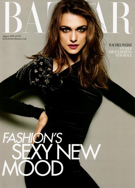 Rachel Weisz for Bazaar UK