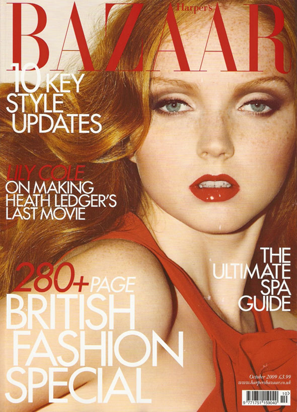 Lily Cole by Guy Aroch