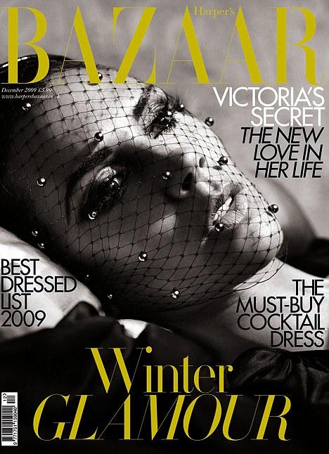 Harper's Bazaar UK Dec 09 by Alexi Lubomirski Subscriber Cover