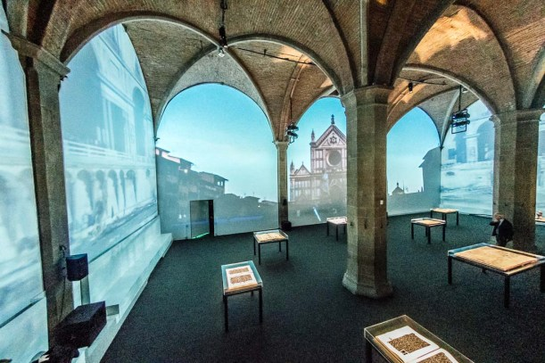 """Alfabeti Sommersi"" exhibition at the Palazzo Vecchio by Mus.e"