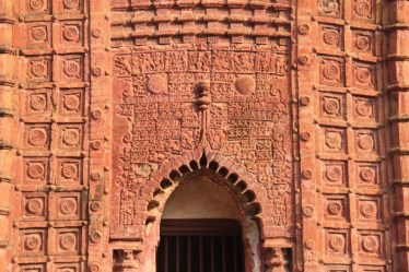 bas reliefs of the Shavmrai temple, Bishnupur