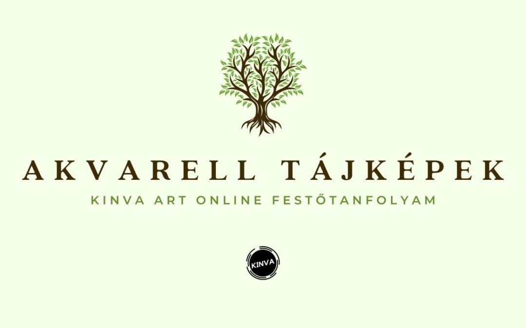 Akvarell Tájképfestő Online Tanfolyam