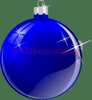 елочный шар синий векторный клипарт artalbumorgua