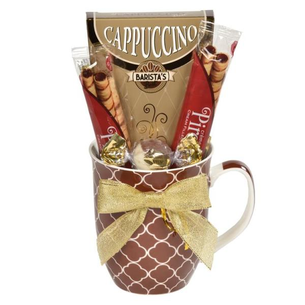 Cappuccino Sampler Gift Basket Artals Promotions Kitchener Waterloo