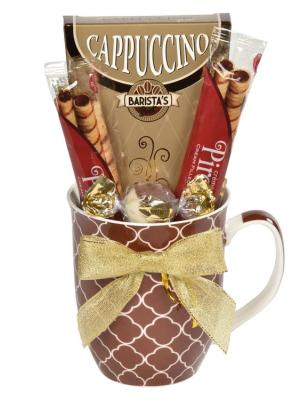 Cappuccino Sampler Gift Basket Artals Promotions Kitchener Waterloo