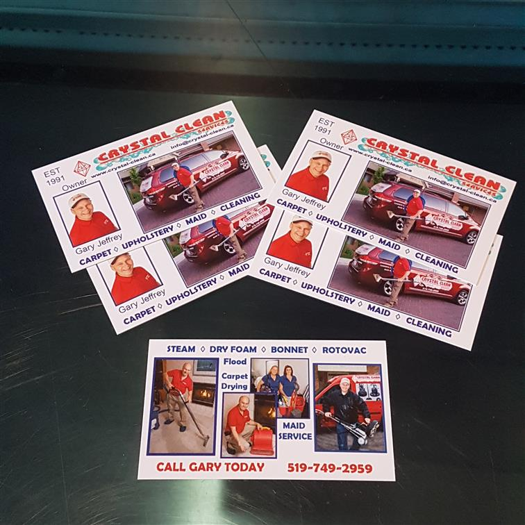 Business Card Printing At Artals Promotions In Kitchener Waterloo Artals Engraving Screen Printing Embroidery Promotional Products Apparel Plaques Awards Trophies And More