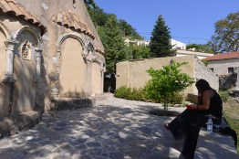 Ivana immediately decided to work with the Byzantine churches in the area