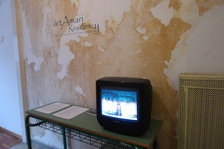 """Slide show of the residencies, the work, the fun, """"backstage"""", etc"""