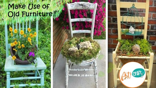 Use of old furniture