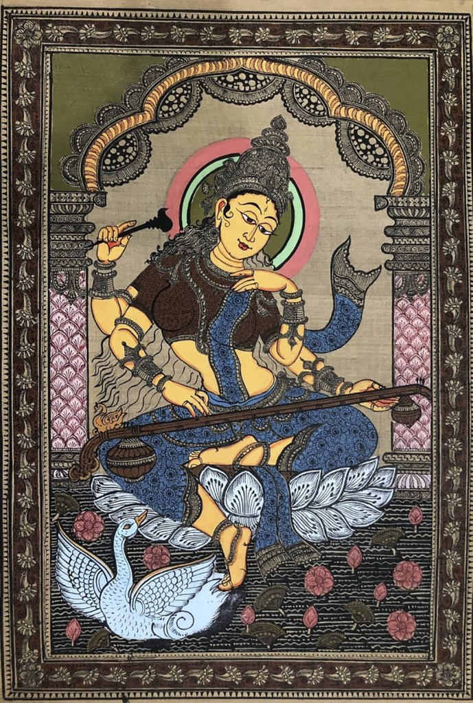 Pattachitra is a picture painted on a piece of cloth
