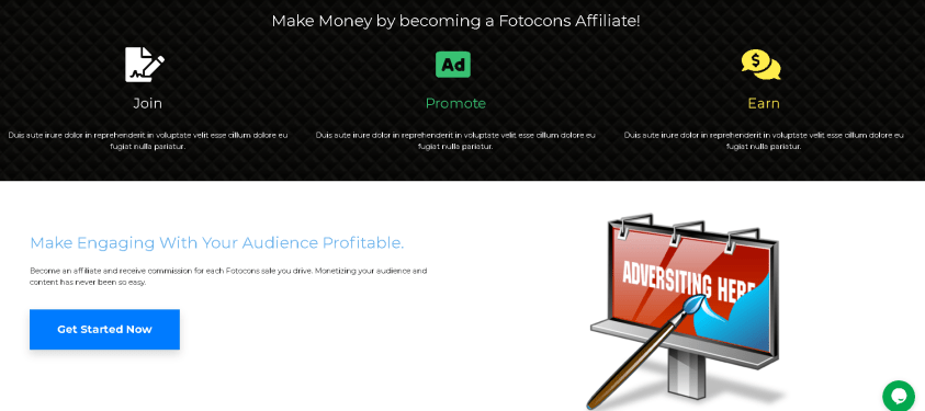 Earn up to 12% advertising fees with Fotocons Join Now For Free