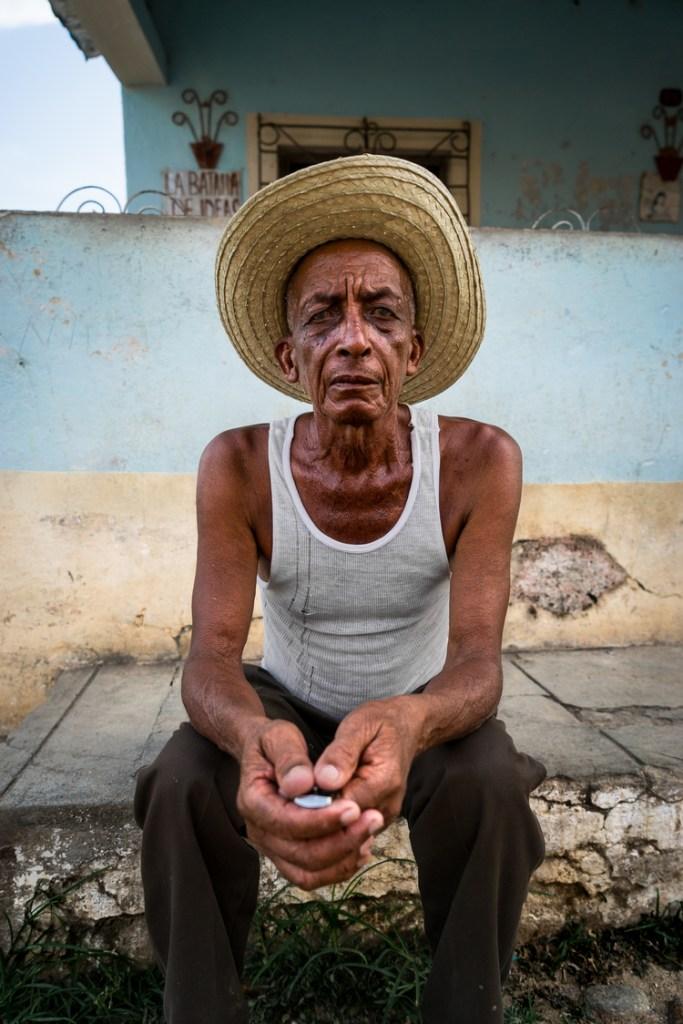 Brandon Kusher, Portrait Of Man In Hat