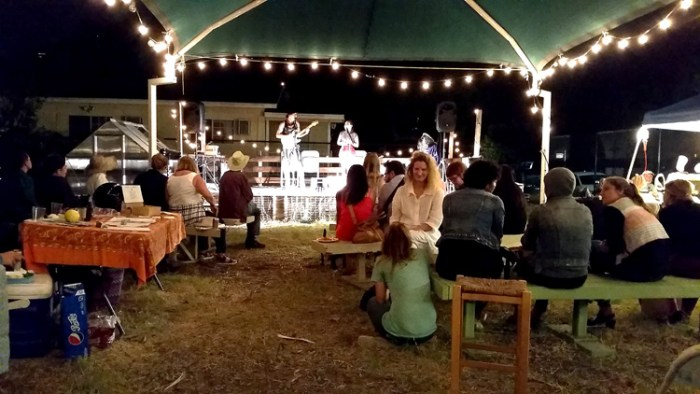 As the evening wound down, Billy Kay & Friends entertained at the Elysian Valley Community Garden Stage. (Photo credit Patrick Quinn)