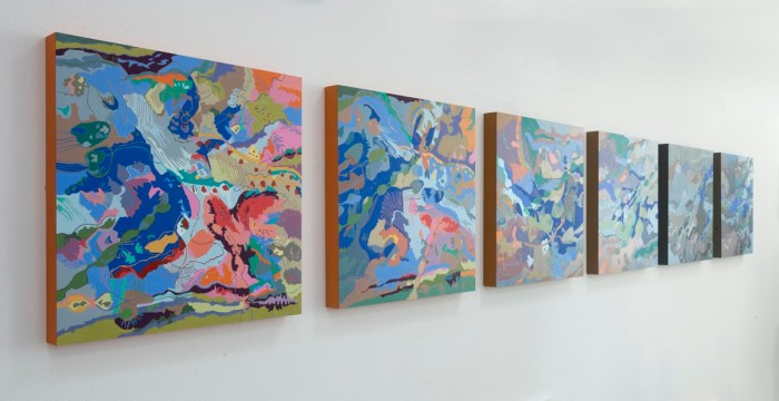 Hiroko Yoshimoto, Life Force at Blackboard Gallery Photo credit Jennifer Susan Jones, All rights reserved ©2016