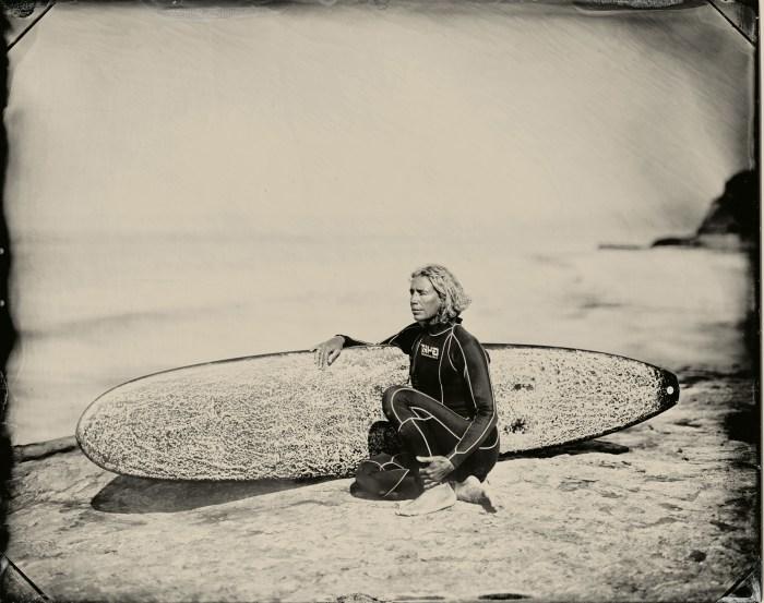 """Joni Sternbach, """"Her Wave"""" at Von Lintel Gallery. Photo courtesy of Von Lintel Gallery"""