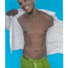 Presidential Nude- Obama