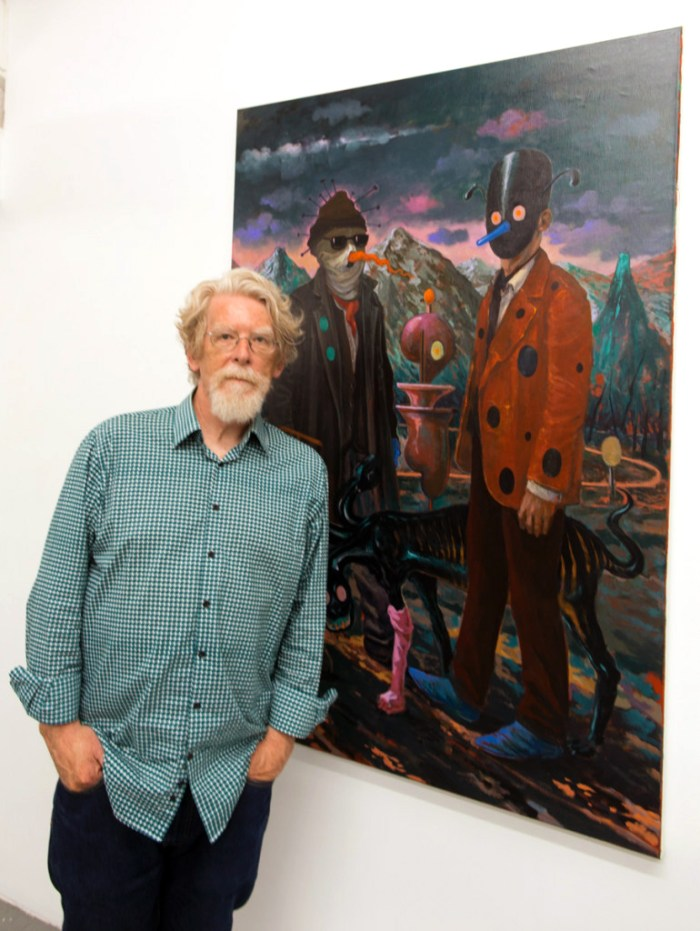 Michael Vale. Durden and Ray: Slippery Stories. Photo courtesy Genie Davis
