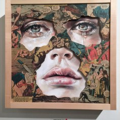 LA CAGE DISPARAISSANT DANS L'INFINI, Sandra Chevrier ©2016 Thinkspace Gallery, Photo credit- JulieFaith, All rights reserved.