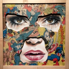 LA CAGE ET LA MUR DU SON, Sandra Chevrier ©2016 Thinkspace Gallery, Photo credit- JulieFaith, All rights reserved.
