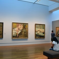 Lucien Freud. London Calling. The Getty Museum. Photo credit Kristine Schomaker All rights reserved.