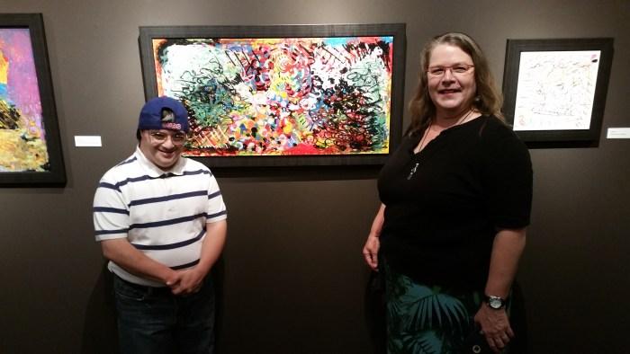 Marvin Castillo and Cheryl Walker Rhythmic Bond Exhibition at Muzeo Photo Credit Lisa Lo Russo