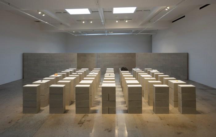 "Pablo Rasgado's ""Horizon"" at Steve Turner Gallery Photo Courtesy of Steve Turner Gallery"