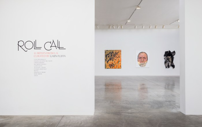 """Roll Call"" Installation View Photo Courtesy of L.A. Louver, Venice, CA"