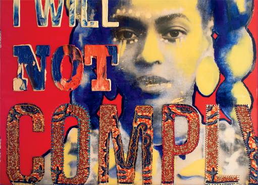 """April Bey - """"Comply"""", Solo Exhibit at Coagula Curatorial opening February 18th 7-11pm"""